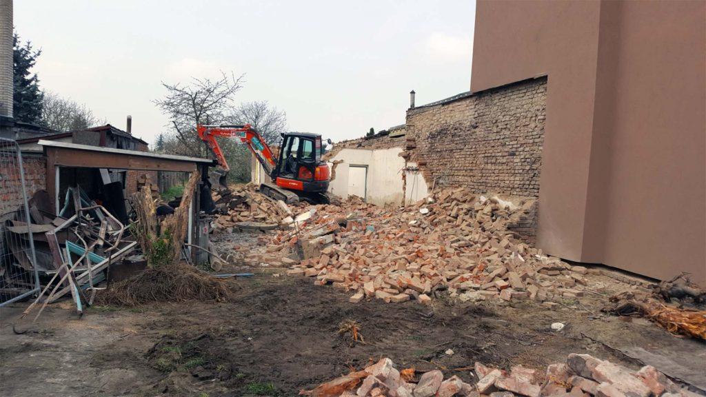 Demolice RD v Olomouci