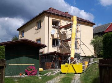 Rekonstrukce RD Jestřebí 2010