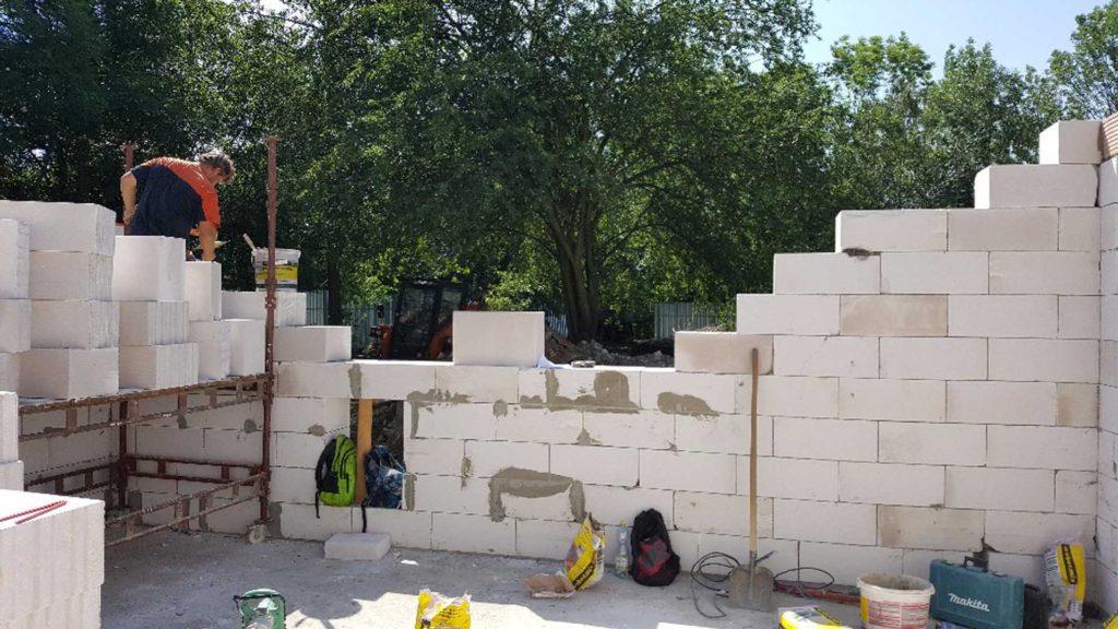 Výstavba nového objektu pro opuštěné psy Útulek Neředín