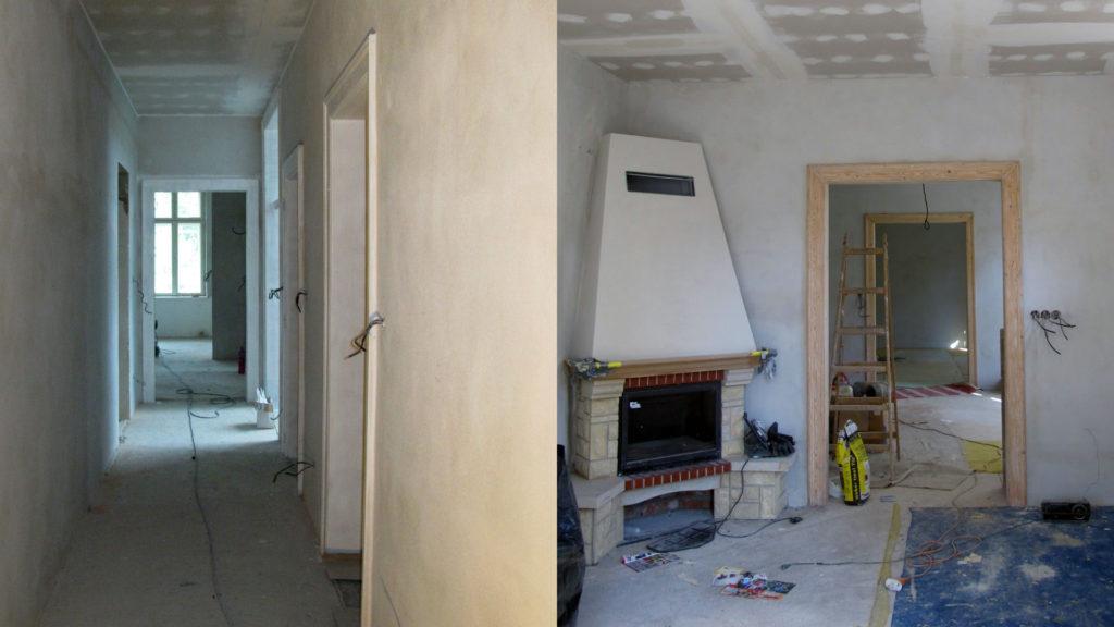 Rekonstrukce památkové vily ul. Resslova Olomouc