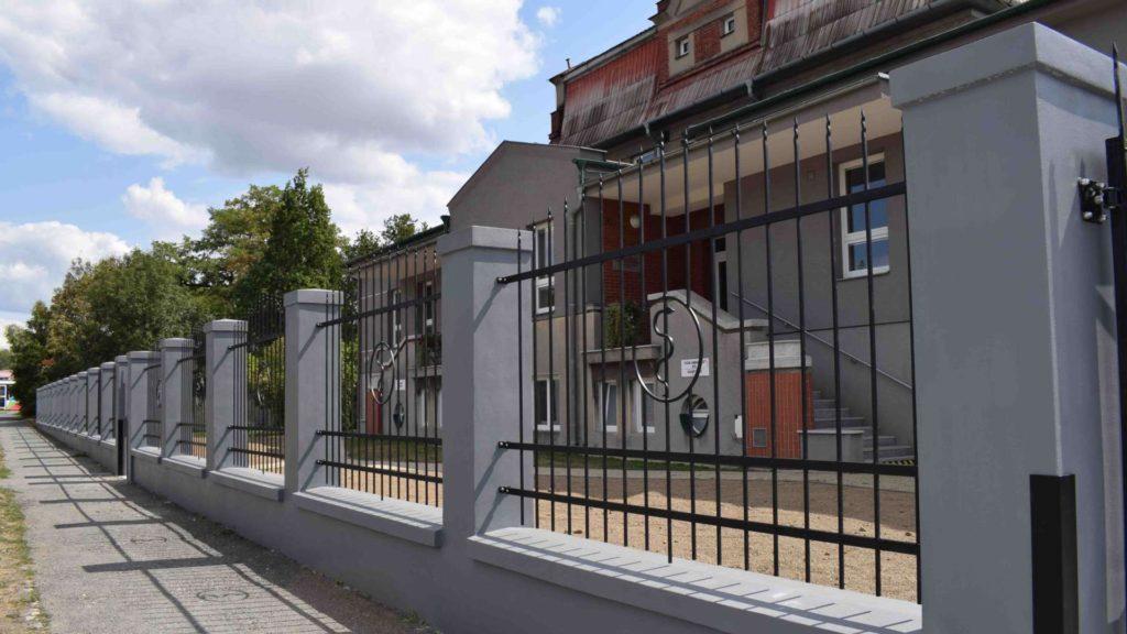 Oplocení areálu Centra léčebné rehabilitace U Ambulatoria