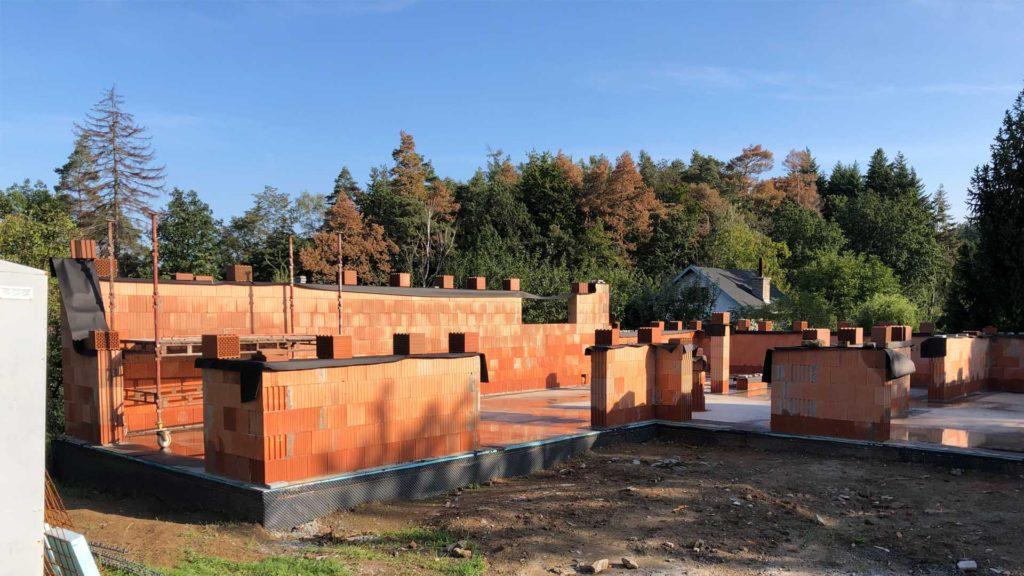 Zahájení výstavby RD na Svatém Kopečku u Olomouce