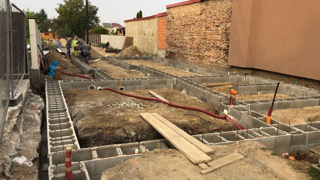 Zahájení výstavby RD v Olomouci Holici